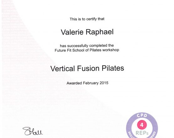 Vertical fusion certification